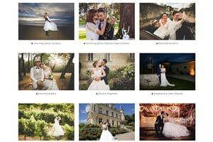 Galerie des mariés Screen dossiers de mariages