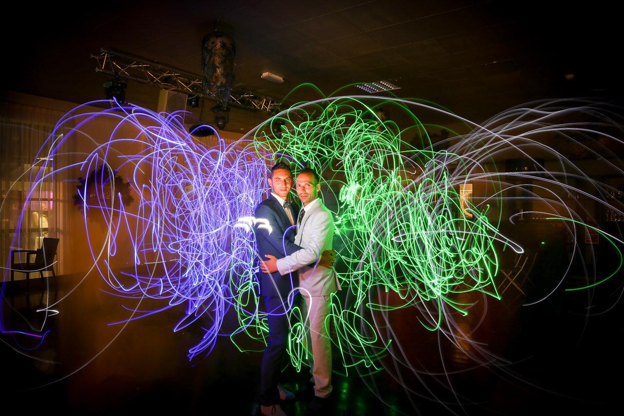 Mariés pendant la soirée - Christophe Boury Photographe de Mariage - style original