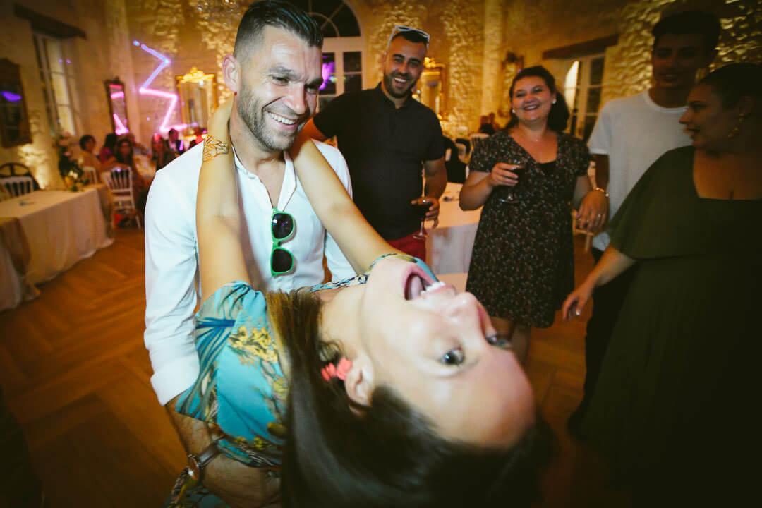 Soirée dansante sur le dance Floor Château Gassies