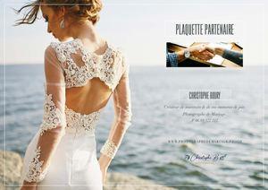 Plaquette Partenaire pour photographe de mariage