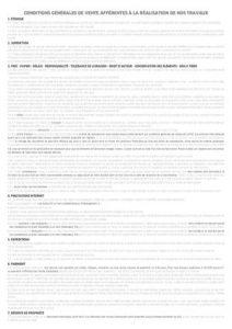 Document PDF information 2 - Conditions générales de vente Graphiste photo photographedemariage Créateur de souvenirs & de vos moments de joie. Ici vous trouverez tout les documents pour les partenaires et CGV.